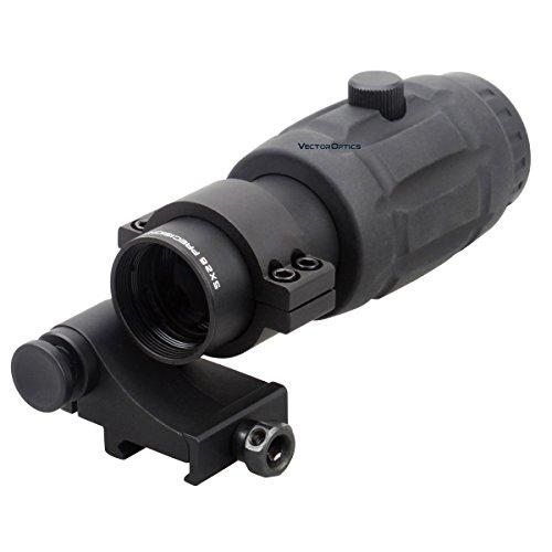 Tac Vector Optics Red Dot Scope Adjustable 5x Magnifier Red Dot