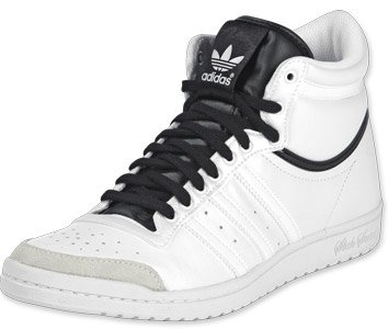 Adidas Top Ten Hi Sleek W Schuhe 6,5 whitewhiteblack