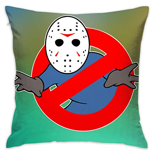 Cheny Ghostbusters Jason Voorhees Pillow Covers Home Decor Throw Pillow Covers Cushion Cover]()