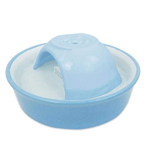 ShiBinPet Fuente de cerámica del Animal doméstico del dispensador ...