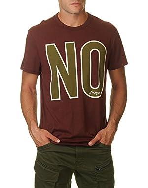 G-Star Men's Men's Burgundy T-Shirt in Size M Burgundy