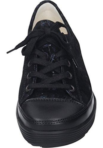 Cordones Mujer Para De Negro Dietz Christian Zapatos TwqOFFS