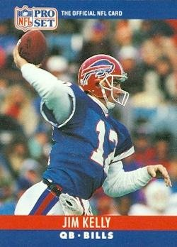 Image Unavailable. Image not available for. Color  Jim Kelly Football ... c8aaabf562fd