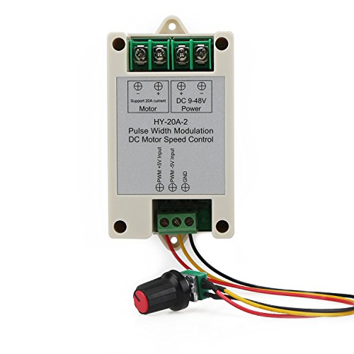 drok-dc-9-48v-16khz-pwm-electric-motor-speed-controller-small-20a-dc-motor-controller-with-sensitive