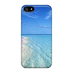 Fashion Protective Clear Water Cases Covers For Iphone 5/5s