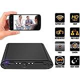 Mini Hidden Camera WiFi, Home Security Nanny Cam Indoor Using Spy Hidden Camera 1080P HD Motion Detection Night Vision