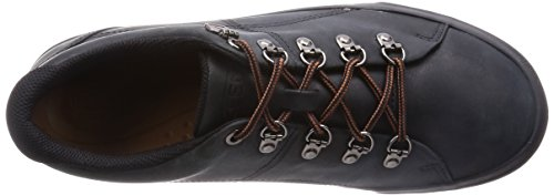 Keen - Zapatos de cordones de Piel para hombre Negro negro Negro - negro