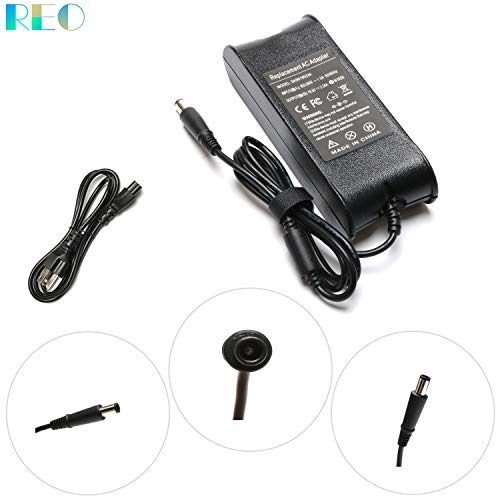 19.5V 3.34A 65W AC Replacement Adapter PA-12 Charger For Dell Chromebook 11 3120 3180 3189;Latitude 7480 5480 5490 E6430 E6410;Vostro 2420 2520 3360;XPS 14Z L412z Notebook Power Plug Supply Cord 7.4mm