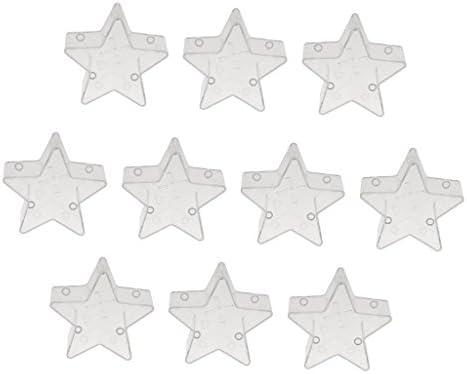 ノーブランド品  10個 カラフル ティー ライトカップ ワックス容器 キャンドル 金型 モールド 耐熱性 5タイプ選べる -