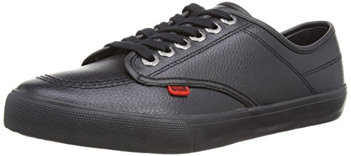 Kickers Threneakie Lace Leather AM Herren Schuhe, Schwarz (Black), *