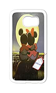 Disney Mickey Mouse Case for Samsung Galaxy S6, Disney Mickey Mouse and Minnie phone Case for Samsung Galaxy S6.