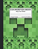 img - for Composition Book College Ruled Notebook: Minecraft Roblox Design medium to large sized notebook with college ruled lined paper for school education, 110 pages, 7.5x9.7 inches. book / textbook / text book