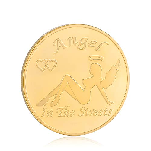 Angel in The Street Devil in The Sheet Challenges Coins - Decision Maker, Jewelry Quality