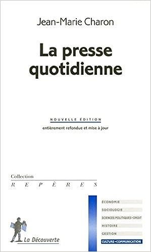 Téléchargement LA PRESSE QUOTIDIENNE pdf