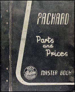 1955-1956 Packard Master Parts Book Original for sale  Delivered anywhere in USA