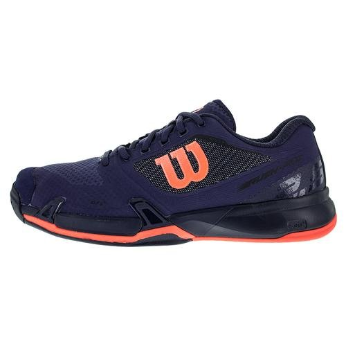 Blue Aura Astral Rush Fiery 5 Pro Coral Tennis Womens Wilson Shoe Evening 2 fqU80Fxv