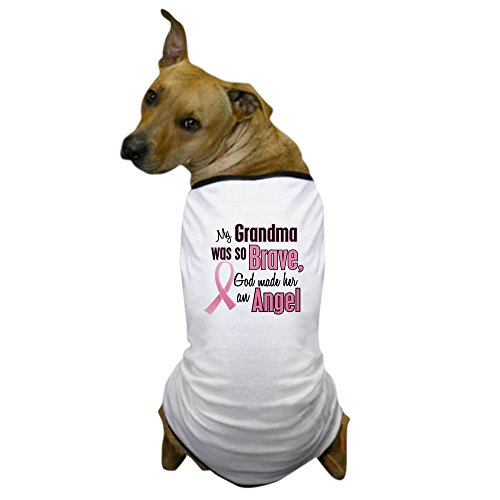 CafePress - Angel 1 (Grandma BC) Dog T-Shirt - Dog T-Shirt, Pet Clothing, Funny Dog Costume