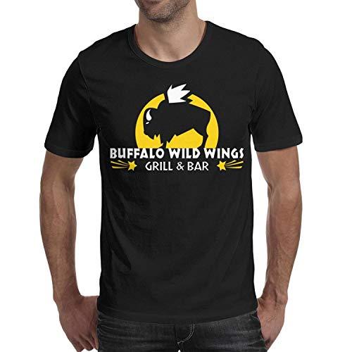 Short-Sleeve Cotton Buffalo Wild Wings t-Shirt for Men ()