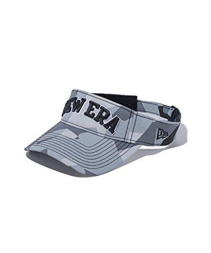 ニューエラ ゴルフ サンバイザー スウェディッシュカモ ニューエラオールドロゴ グレー 11557043 グレースWDカモ F