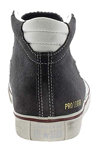 star 031 Vulc Zapatillas Gris White Converse Leather Mid Distressed Lifestyle Pro storm Unisex Wind Adulto qn6g7