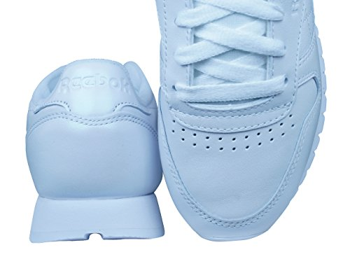 Pearlized Mujer Classic Lthr Blanco Leather Reebok Reebok Cl Pearlized EgRwq0Ox