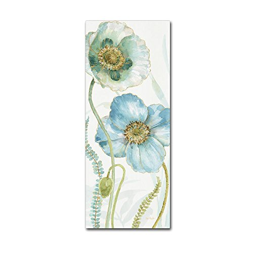 My Greenhouse Flowers IX by Lisa Audit, 20×47-Inch Canvas Wall Art