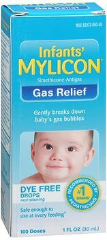 Mylicon Infants' Gas Relief Dye Free Drops - 1 oz, Pack of 4 by Mylicon