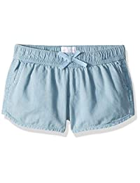 The Children's Place - Pantalones Cortos de Punto para niñas Grandes, Talla Grande