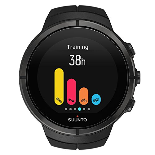 Suunto Spartan Ultra Titanium Heart Rate Monitor Black, One Size by Suunto