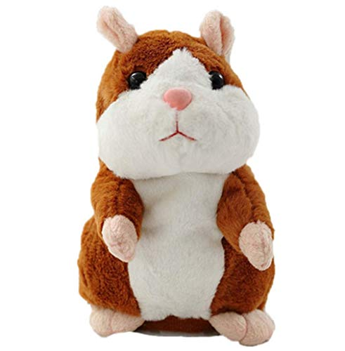 SweetU Talking Hamster Plush Toy Repeat What You
