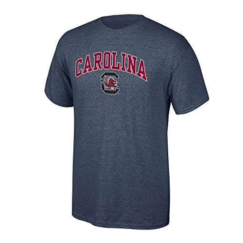 University South Carolina Jersey - Elite Fan Shop NCAA Men's South Carolina Fighting Gamecocks T Shirt Dark Heather Arch South Carolina Fighting Gamecocks Dark Heather Medium
