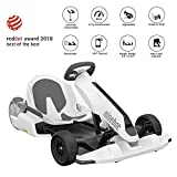 Ninebot Electric GoKart Kit for Segway miniPRO Ninebot S (Self Balancing Scooter Excluded), 12.4 Miles Range, 15 MPH Top Speed, Mobile App Control, LED Lights Drifting Cart for Kids and Adult