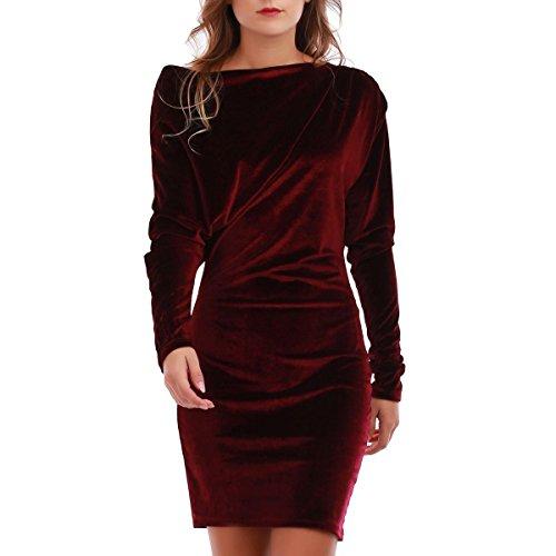 La Modeuse - Vestido - para mujer morado