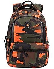 Camouflage Design Children Student School Bag Backpack Teen Girls Boys Bookbag Outdoor Daypack