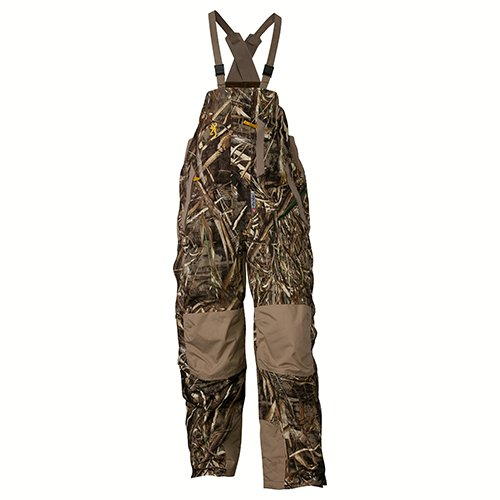 Insulated Hunting Coverall - Browning 3063127603 Wicked Wing Insulated Bib, Realtree Max 5, Large