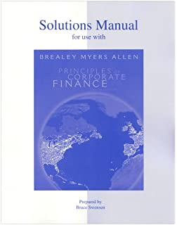 Amazon solutions manual to accompany principles of corporate solutions manual to accompany principles of corporate finance 9th edition fandeluxe Gallery