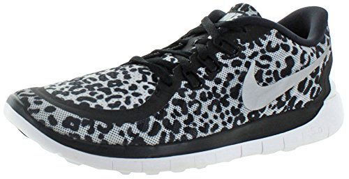 shoes running sneakers print 5 nike free 748870 0 Black GS trainers wzP1wOqx