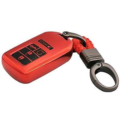 Coolbestda Smart Soft Key Fob Remote TPU Case Cover Keyless Entry Holder Protector for A2C81642600 2020 2020 2020 2016 2015 Honda Accord Civic CR-V CRV Pilot EX EX-L Touring Premium 2020 Insight: Automotive