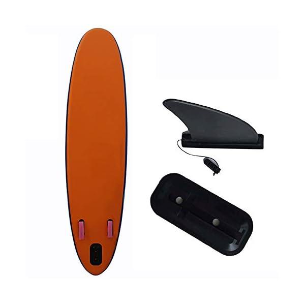 Stand Up Paddel Gonfiabile 6 pollici di spessore gonfiabile Stand Up Paddle insieme del bordo Con triple Pinne for Surf… 4 spesavip