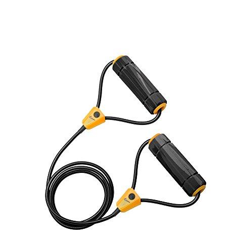 Cheap Nike Long-Length Medium Resistance Band 2.0 (Grey/Black/Bright Citrus)