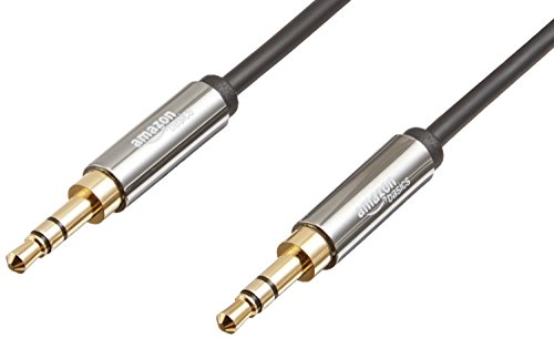 AmazonBasics 3.5mm Male To Male Stereo Audio Cable