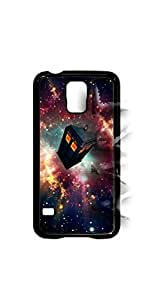Hipster doctor who tardis space VS5.1 Samsung Galaxy S5 - Black Case - AArt
