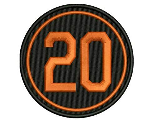 Frank Robinson #20 Patch Memorial Orioles Version Reds Indians Giants Nationals