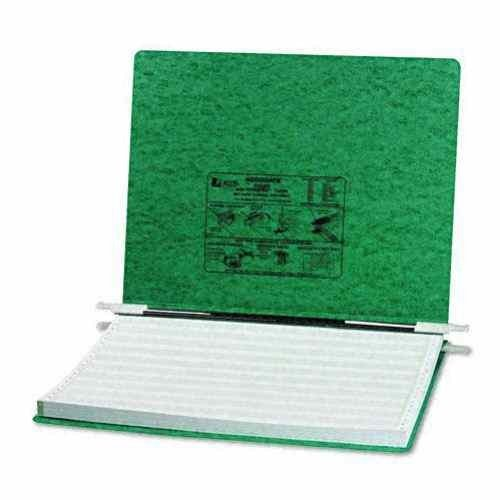ACCO - Pressboard Hanging Data Binder, 14-7/8 x 11 Unburst Sheets, Dark Green - Sold As 1 Each - Top and Bottom Loading Binder Expandable for Various Sized Projects.