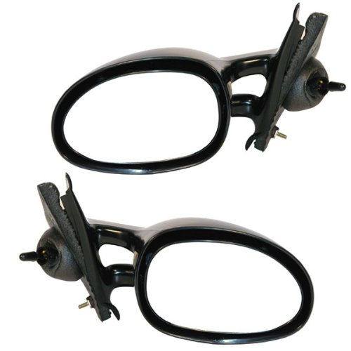 Stratus Breeze Cirrus Manual Remote Rear View Mirror Left & Right Side Set PAIR ()