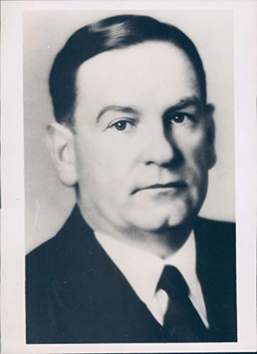 (1935 Photo Orval W Adams Vice President American Bankers Business Portrait UT)