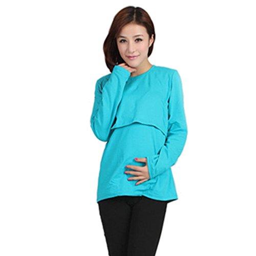 DDLBiz Maternity Nursing Breastfeeding T Shirt