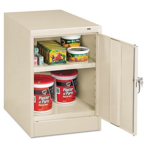 (Tennsco 30 inch High Single Door Cabinet, 19w x 24d x 30h,)