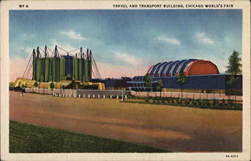 Travel and Transport Building - Chicago World's Fair Chicago, Illinois IL Original Vintage Postcard