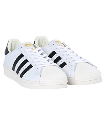 adidas Originals Mens Superstar Boost Trainers White Black US12.5 White NpqFMDCh